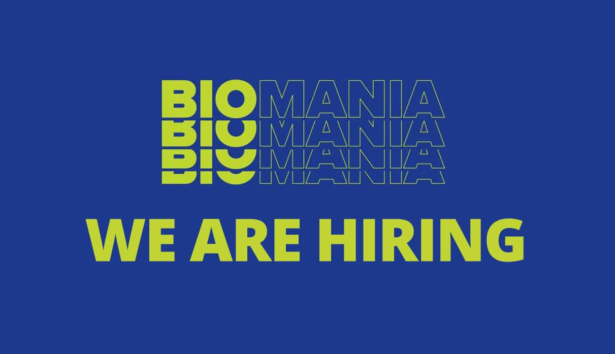 job opportunity at biomania bol