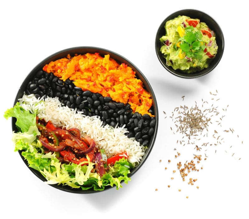 Zdrava veganska i vegetarijanska, organska hrana i piće